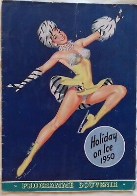 HOLIDAY ON ICE 1950   programme souvenir