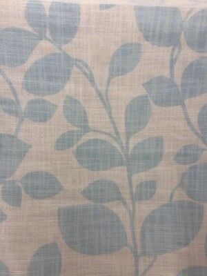 Laura Ashley Chesil Fabric - Duck Egg - 1m - (More Available)