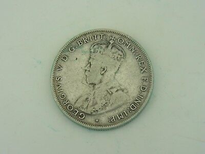 1 One Florin 2 Two Shillings 1934 New Zealand Neuseeland Silber M428