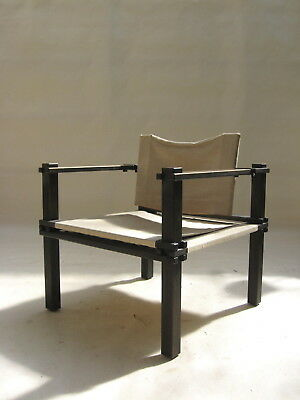 "Architectural ""Farmer"" Chair by Gerd Lange 1965 le corbusier rietveld eames era"