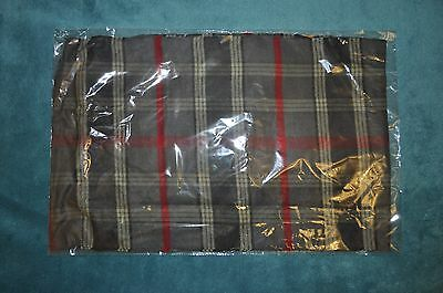 Bnib 20 X Winter Warm Red/grey Tartan Shawls Scarves Pashmina 100% Acrylic