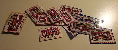 25 Box Tops For Education Neatly Trimmed