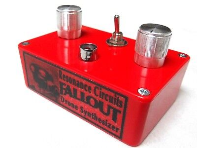 Rc Circuit Bent 'drone Fallout' Micro Atmosphere Fuzz Sound Filter Noise Synth