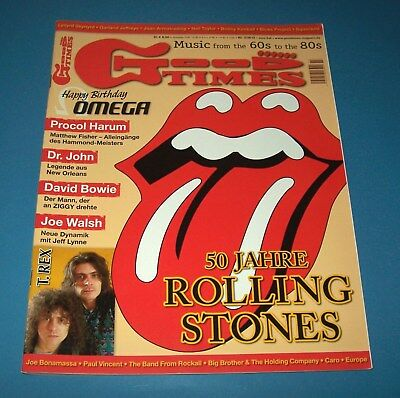 50 Jahre Rolling Stones: Good Times Magazin (Sommer 2012)