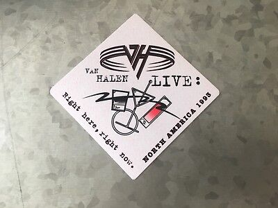 Van Halen - Live - Right here, right now - North America 1993 - Event Pass
