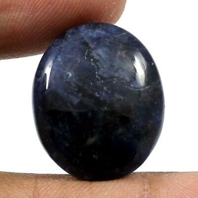 15.65 cts 100% Natural Beautiful Sodalite Gemstone Oval Shape Loose Cabochon