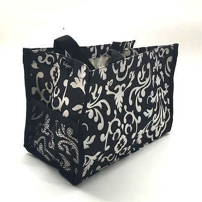 Thirty one all in one mini tote hand organizer bag 31 gift in Black parisian pop