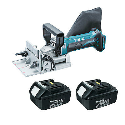 Makita LXJP02Z 18V LXT Cordless Plate Joiner with (2) Makita BL1830 Batteries