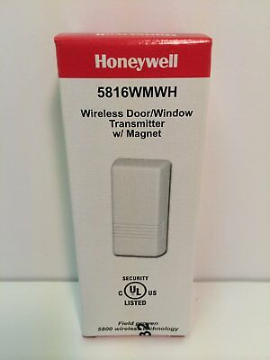 5Pk of 5816wmwh honeywell wireless window/door transmitter w/magnet FREE SHIP