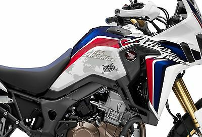 Sticker Tank Protector Honda CRF1000 Africa Twin Clear