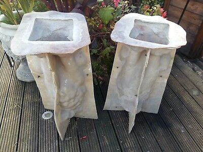 Latex Concrete Moulds/ Pair Of Lion Statues