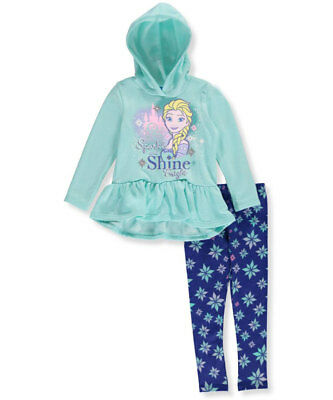 Disney Frozen Little Girls' Toddler 2-Piece Outfit (Sizes 2T - 4T)