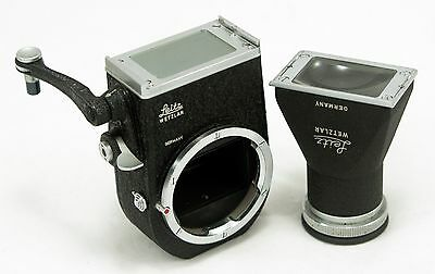 Leica Visoflex II with 5x Vertical Magnifier OTVXO in Excellent condition