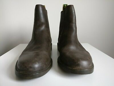 tuffa tipperary brown horse riding boots equestrian size 7