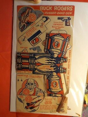 Buck Rogers rubber band Space gun  Onward School Supply  raygun 1940