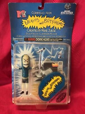 1998 Previews Exclusive MTV's Radioactive Cornholio Beavis Action Figure #AH43