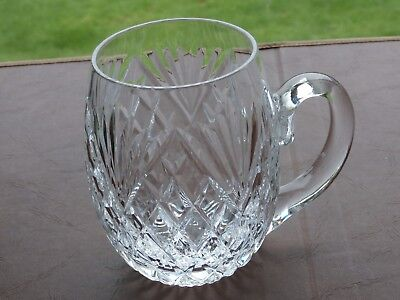 Irish Tyrone Crystal 1 Pint PORTRUSH Tankard