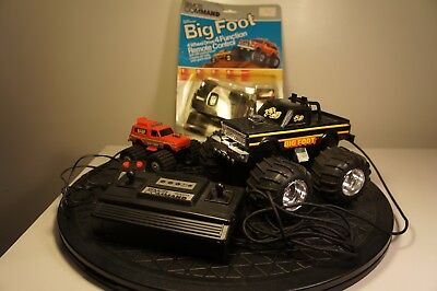 Vintage 1984 Remco Remote Line Command Big Foot Monster Truck 4x4 lot