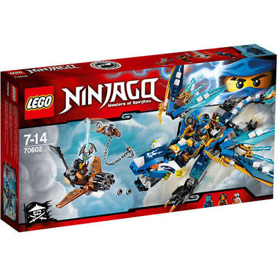 LEGO Ninjago - 70602 Jay's Elemental Dragon (New and Sealed)