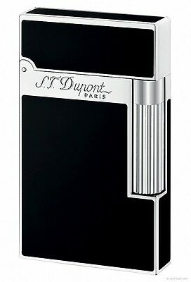 S.t. Dupont Ligne 2 'chinese Lacquer' Lighter Black Lacquer / Palladium 016296