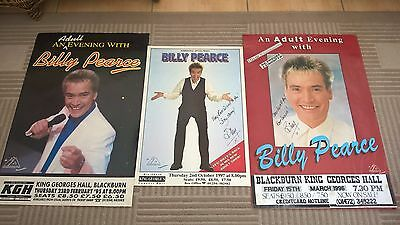 3 Billy Pearce Signed Posters