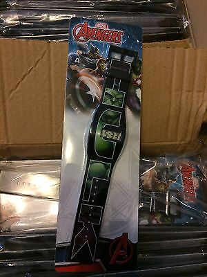 10 Official Marvel Hulk watches -  job lot wholesale watches new