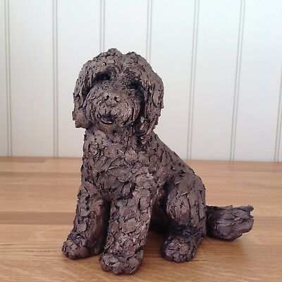 Frith Sculpture LUCY COCKAPOO by Adrain Tinsley in cold cast bronze - AT036