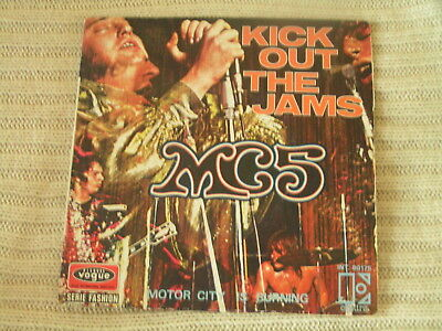 MC5 – Kick Out The Jams - French issue -  Ex -  Listen
