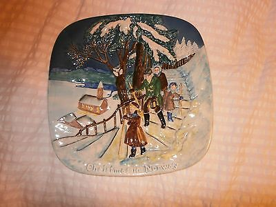 John Beswick Christmas  in  Norway  Plate.