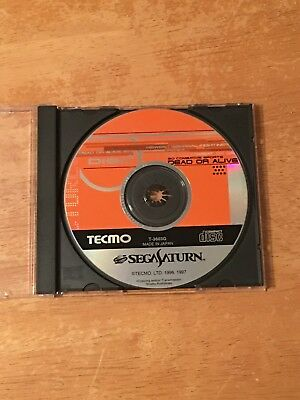 Dead or Alive Sega Saturn Japan Import US Seller. Disc Only. Excellent Shape.