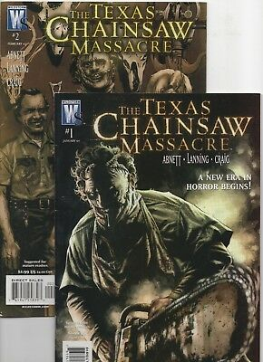 The Texas Chainsaw Massacre #1-2 (Jan 2007, DC)
