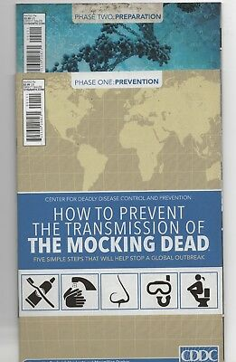 The Mocking Dead #1-2 ([October] 2013, Dynamite Entertainment)