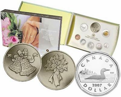 2007 RCM Wedding Sterling Silver Proof Coin Set