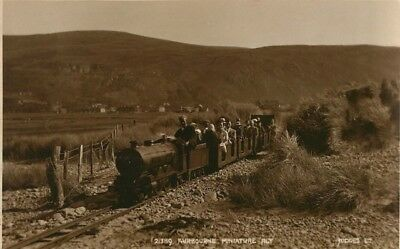 Fairbourne Miniature Railway Different View This One Real Photo