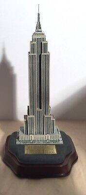 Danbury Mint Lighted Empire State Building