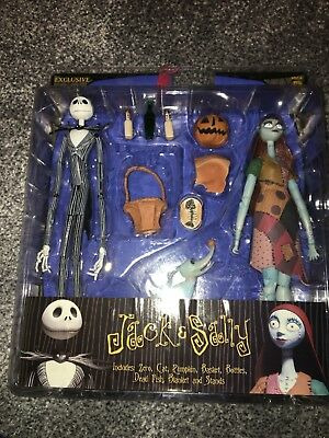 Limited Edition Jack And Sally Figures