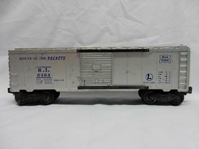 "Postwar Lionel 6464-75 Rock Island ""Route Of The Rockets"" Boxcar"