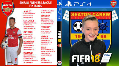 Fifa 18 YOUR KIDS TEAM inc IMAGE PS4 Box Cover Art - Playstation 4 Custom Cover
