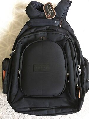 "Late Show With David Letterman Backpack Black 18"" X 15"""