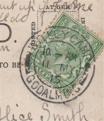 Postal History Witley Camp Godalming 1915 Chatham Multiview