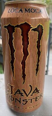 New Sealed Loca Moca Java Monster Coffee-Energy Drink 16- Ounce 1 Can