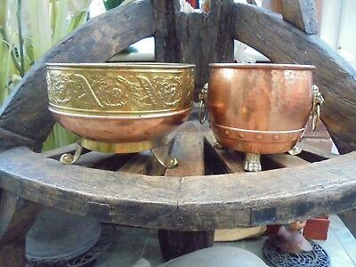 2. Beautiful   Superbly  Decorative  Brass & Copper  Planter's
