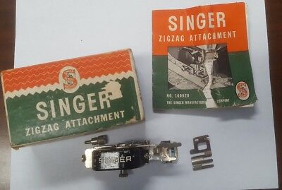 Singer Featherweight Zigzag Attachment 160620 Box Manual