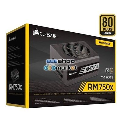 Corsair RM750x 750W ATX Black power supply unit EPS - Floppy x 2 - CP-9020092-EU