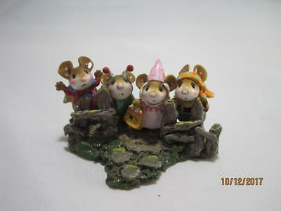 Wee Forest Folk Fearsome Foursome - Retired - Halloween WFF in Box