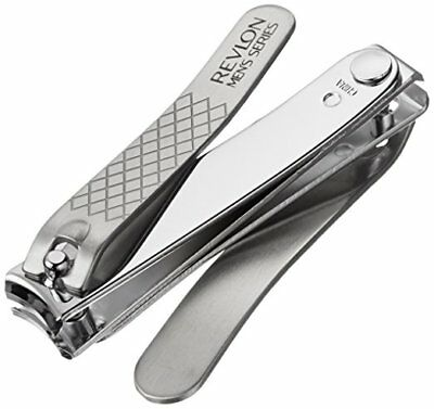 Revlon Men's Series Stainless Steel Dual Ended Nail Clipper 42099