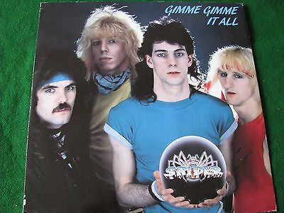 """SPIDER.. Gimme Gimme It All (12"""" Vinyl)"""