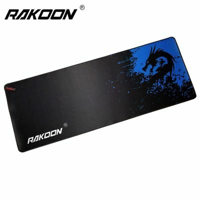 Rakoon Speed/Control Version Large Gaming Mouse Pad Gamer Locking Edge Mouse Key
