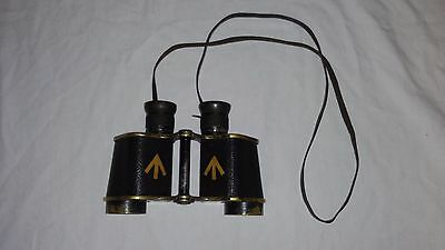 WW1 WWI British Binoculars Ross London 1917