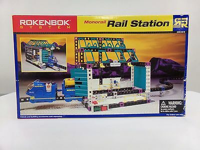 Rokenbok System Monorail Rail Station Set 06323